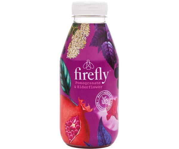 Firefly- Plastic - Pomegranate & Elderflower - 12x400ml