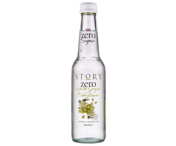 Story - Zero Sugar - White Grape & Elderflower - 12x275ml