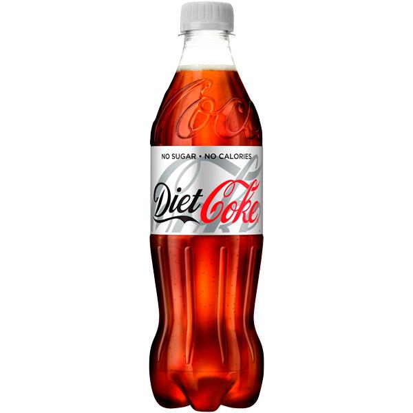 Diet Coke - Pet Bottles - 24x500ml