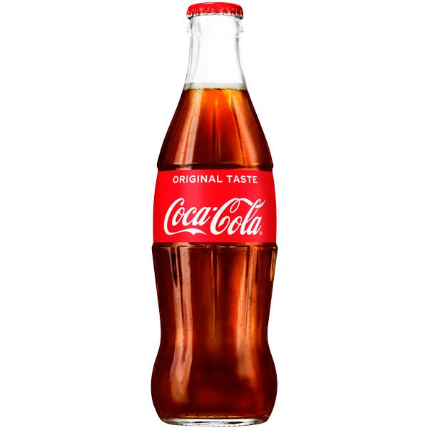 Coke Glass Bottles 24x330ml