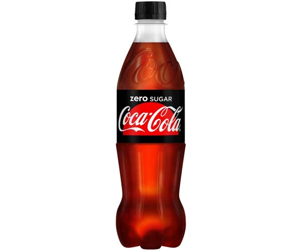 Coke - Zero - Pet Bottles - 12x500ml