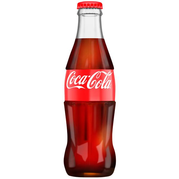 Coke - 200ml Glass Bottles - 24x200ml