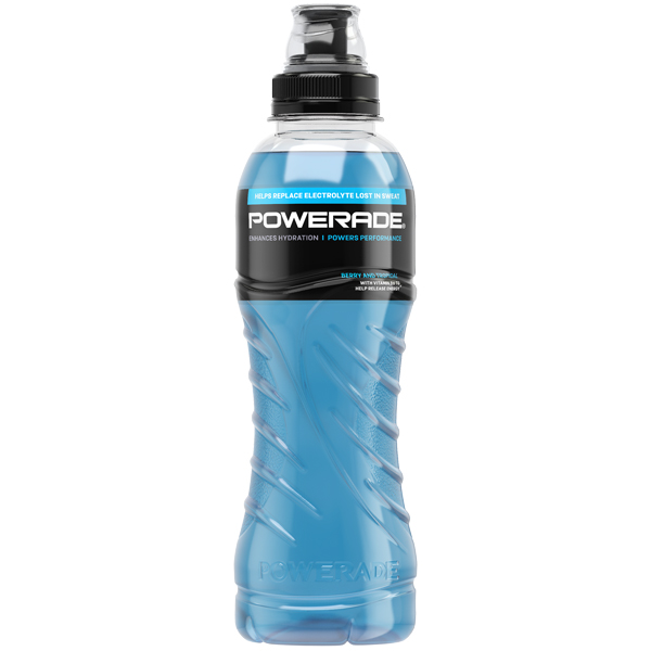 Powerade - Berry & Tropical Nrb (Blue) - 12x500ml