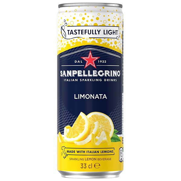 San Pellegrino - Limonata - 24x330ml Cans