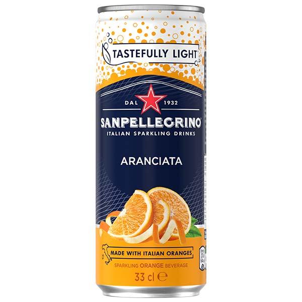 San Pellegrino - Aranciata - 24x330ml Cans