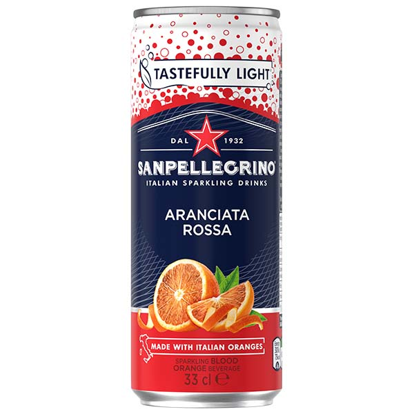 San Pellegrino - Rossa - 4x6 330ml Cans