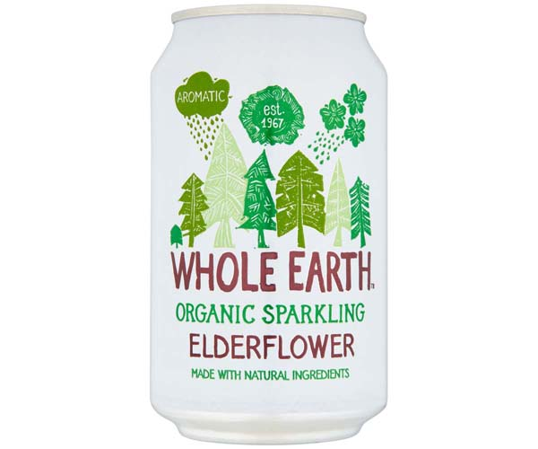Whole Earth - Organic Elderflower - 24x330ml