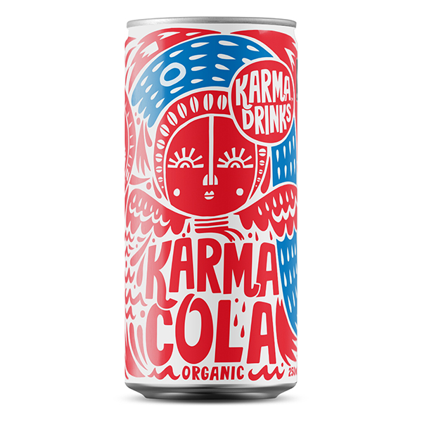 Karma - Cola Cans - 24x250ml