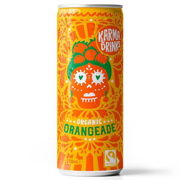 Karma Drinks - Cans - Summer Orangeade - 24x250ml