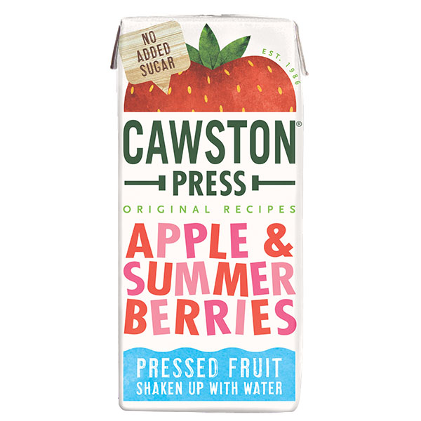 Cawston Press Kids - Summer Berries - 18x200ml