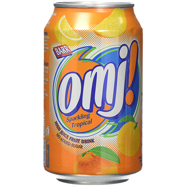 OMJ - Sparkling Tropical - 24x330ml Cans
