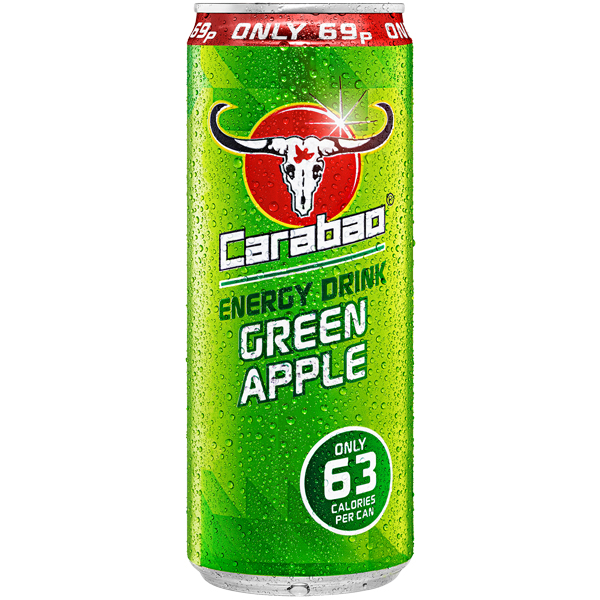 Carabao Cans - PMP - Green Apple - 12x330ml