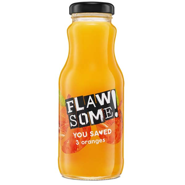 Flawsome! - Glass - Orange Juice - 12x250ml