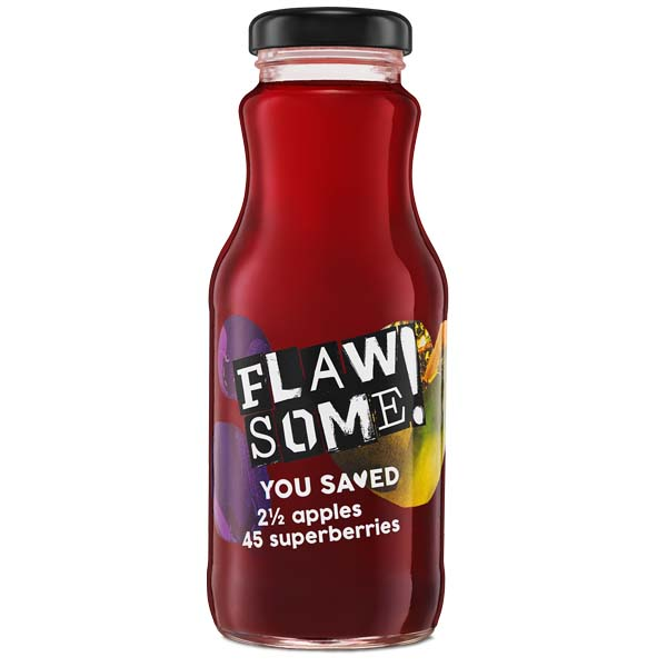 Flawsome - Apple & Superberry - 12x250ml