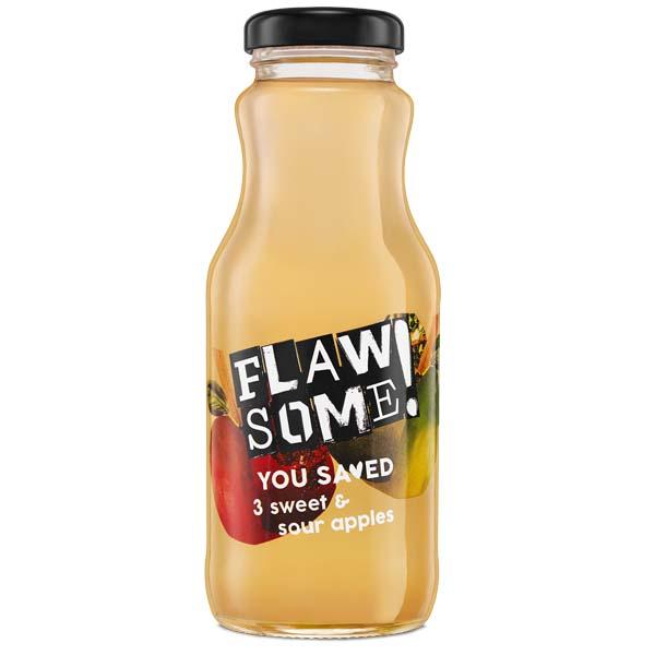 Flawsome! - Glass - Apple & Sour Apple Juice - 12x250ml