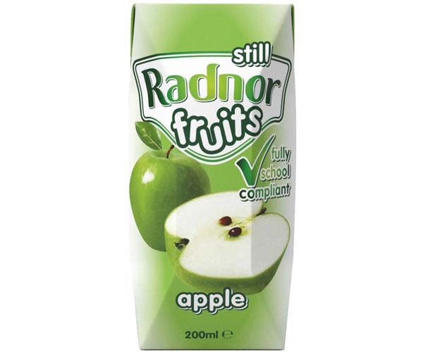 Radnor Fruits Still - Tetra - Apple - 24x200ml