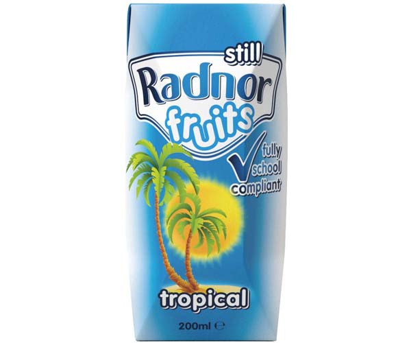 Radnor Fruits Still - Tetra - Tropical - 24x200ml