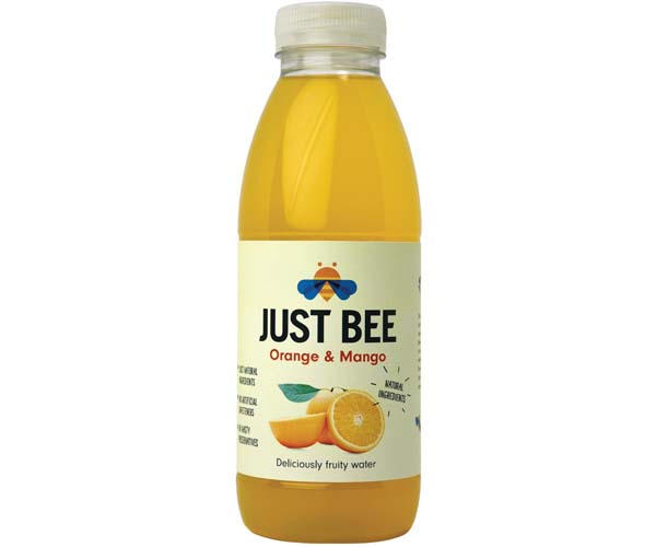 Just Bee - Pet - Orange & Mango - 12x500ml