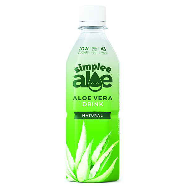 Simplee Aloe - Pet - Aloe Water - With Pulp - 12x500ml