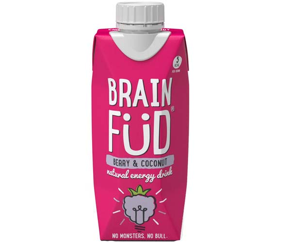 Brain Fud Tetra - Berry & Coconut - 12x330ml