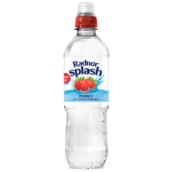 Radnor Splash - Sports Cap - Strawberry - 24x500ml