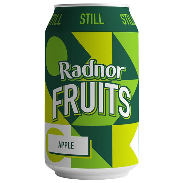 Radnor Fruits Can - Apple - 24x330ml