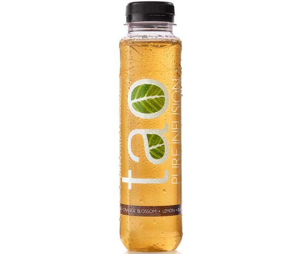 Tao Infused Tea - Blacktea Orange Blossom & Lemon - 18x330ml