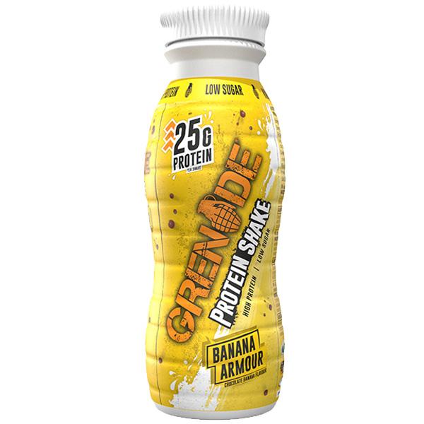 Grenade Shake - Carb Killa - Banana Armour - 8x330ml