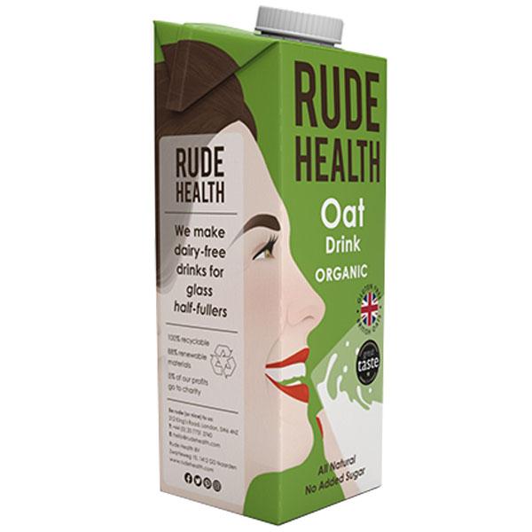 Rude Health - Oat Drink - 6x1L