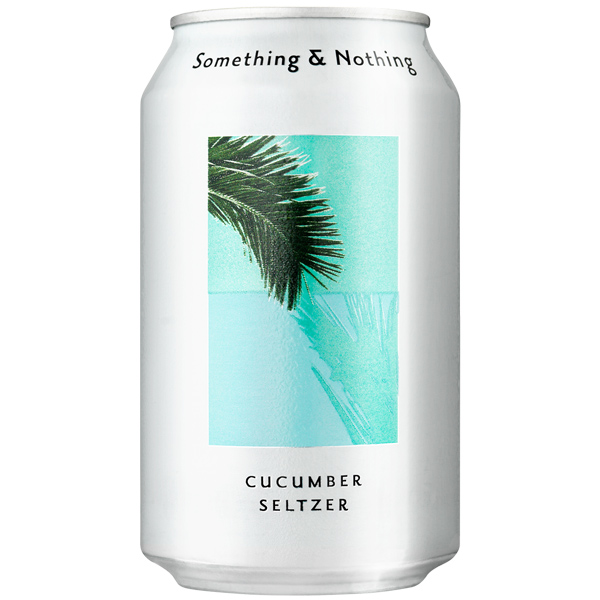 Something & Nothing - Cucumber Seltzer - 12x330ml
