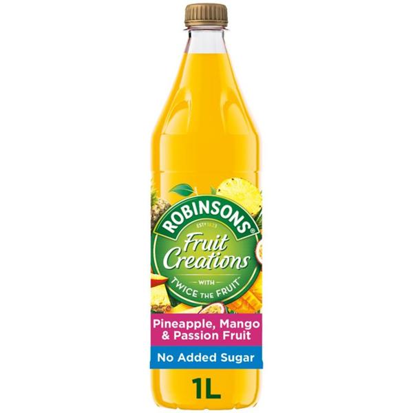 Robinsons Creations - Pineapple, Mango & Passionfruit - 12x1L