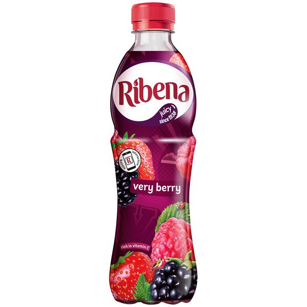 Ribena Bottle - Very Berry - 12x500ml