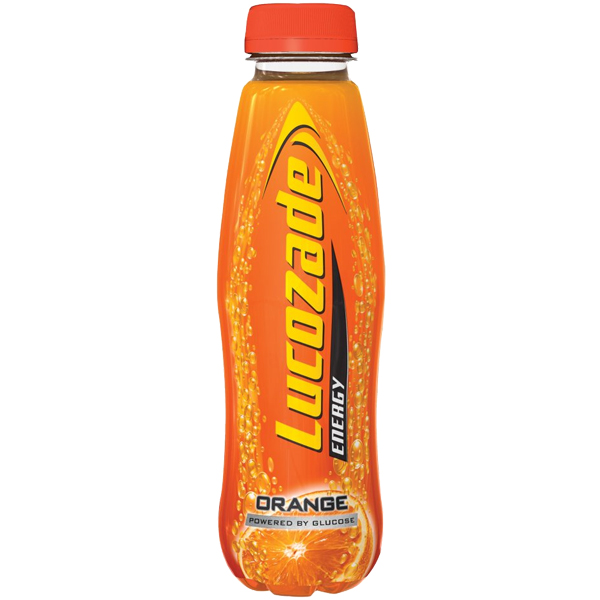 Lucozade Energy - Orange - 24x380ml