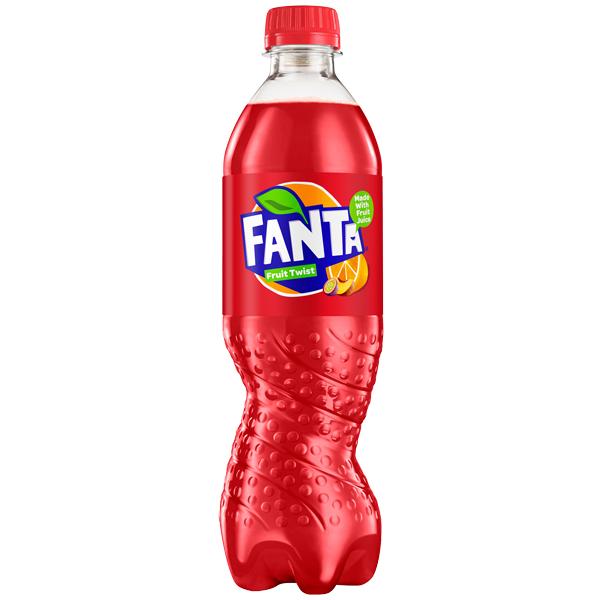 Fanta PET - Fruit Twist - 12x500ml