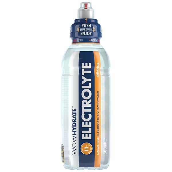 Wow Hydrate - Electrolyte Orange - 12x500ml