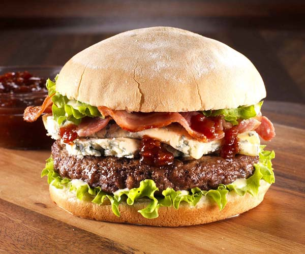 Burger - Flame Cooked Quarter Pounder - 48x90g