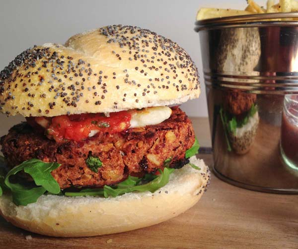 Spicy Bean Burger - 31x80g
