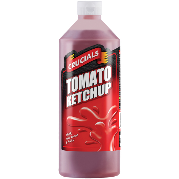 Crucials Sauce - Tomato Ketchup - 1x1L