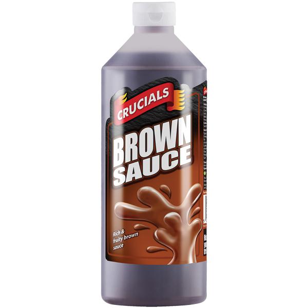 Crucials Sauce - Brown Sauce - 1x1L