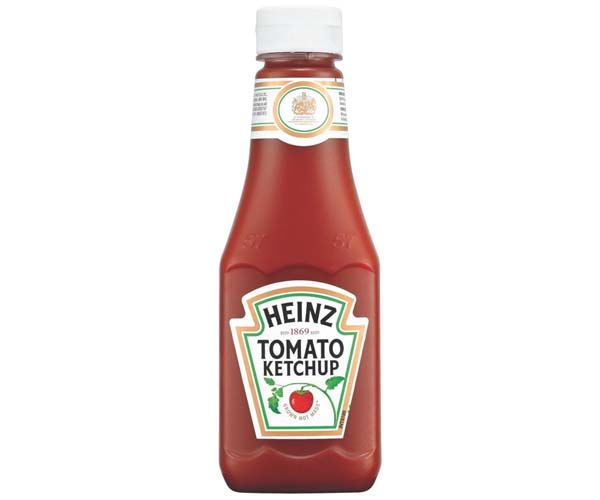 Heinz - Tomato Ketchup Squeezy Bottles - 10x342G