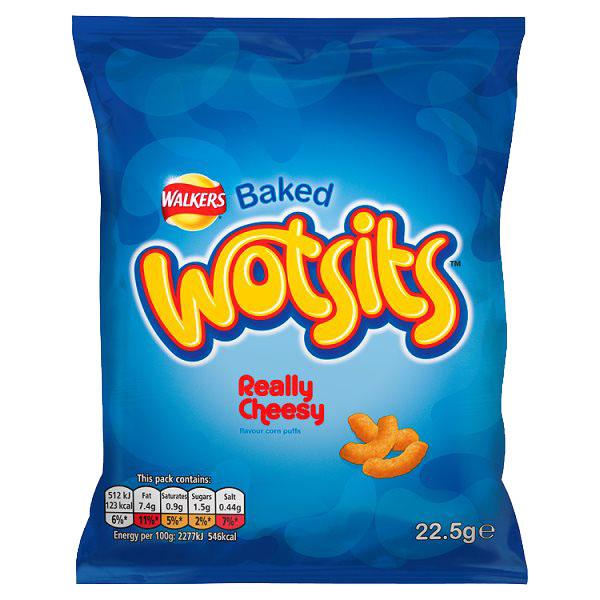 Walkers - Wotsits Cheesy Grab Bag - 32x22.5g
