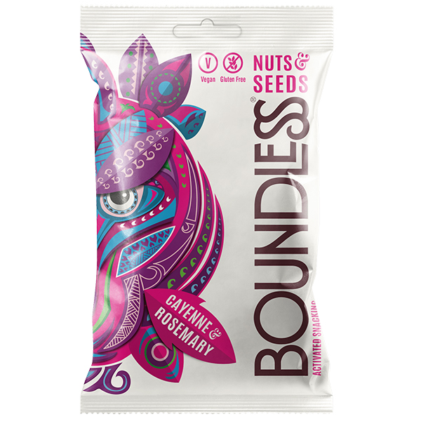 Boundless - Nut & Seeds - Cayenne & Rosemary - 12x30g