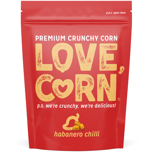 Love Corn - Habanero - 10x45g