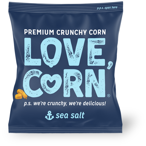 Love Corn - Sea Salt - 100x20g