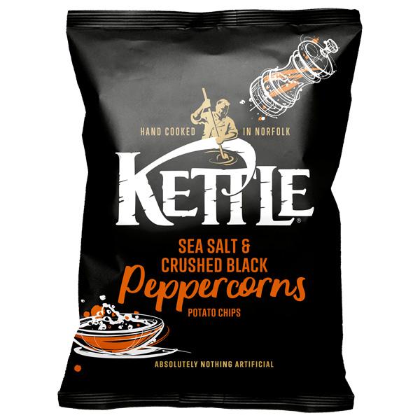 Kettles - Sea Salt & Black Pepper - 18x40g