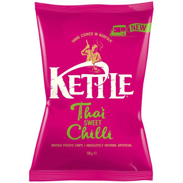 Kettles - Thai Sweet Chilli - 12x150g