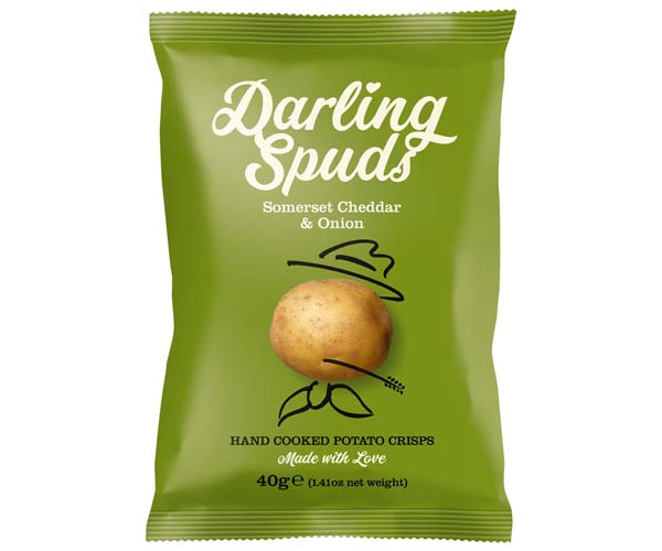Darling Spuds - Somerset Cheddar & Onion - 30x40g