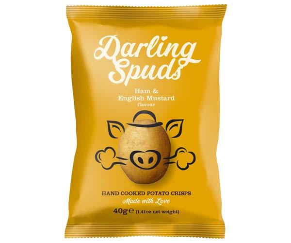 Darling Spuds - Ham & English Mustard - 30x40g