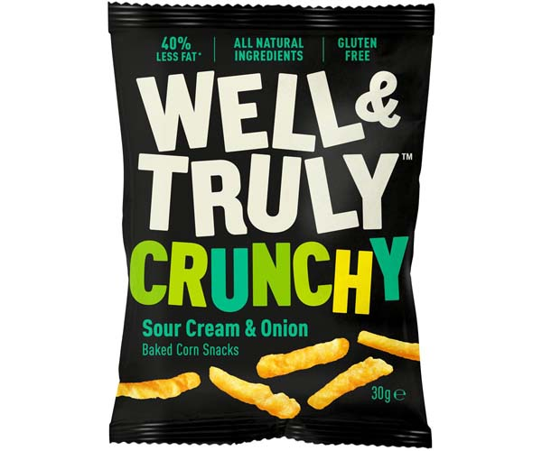 Well & Truly - Sour Cream - 16x30g