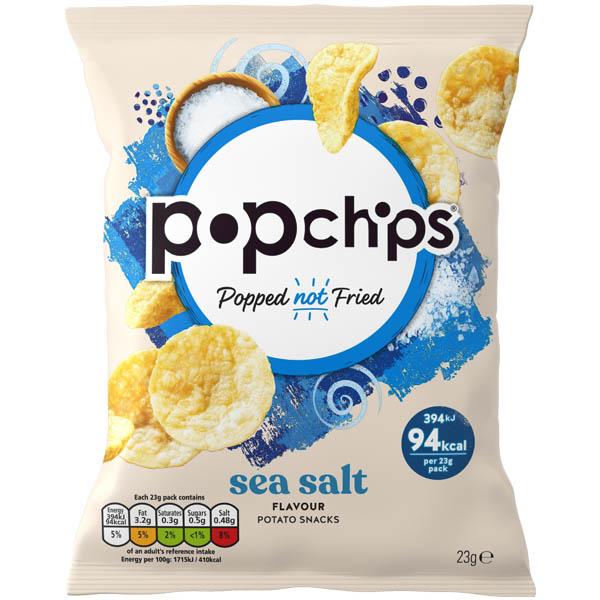 Popchips - Sea Salt (Original) - 24x23G